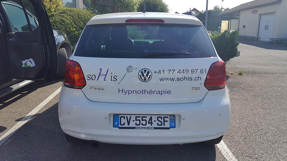 Marquage de véhicule pour Sohis