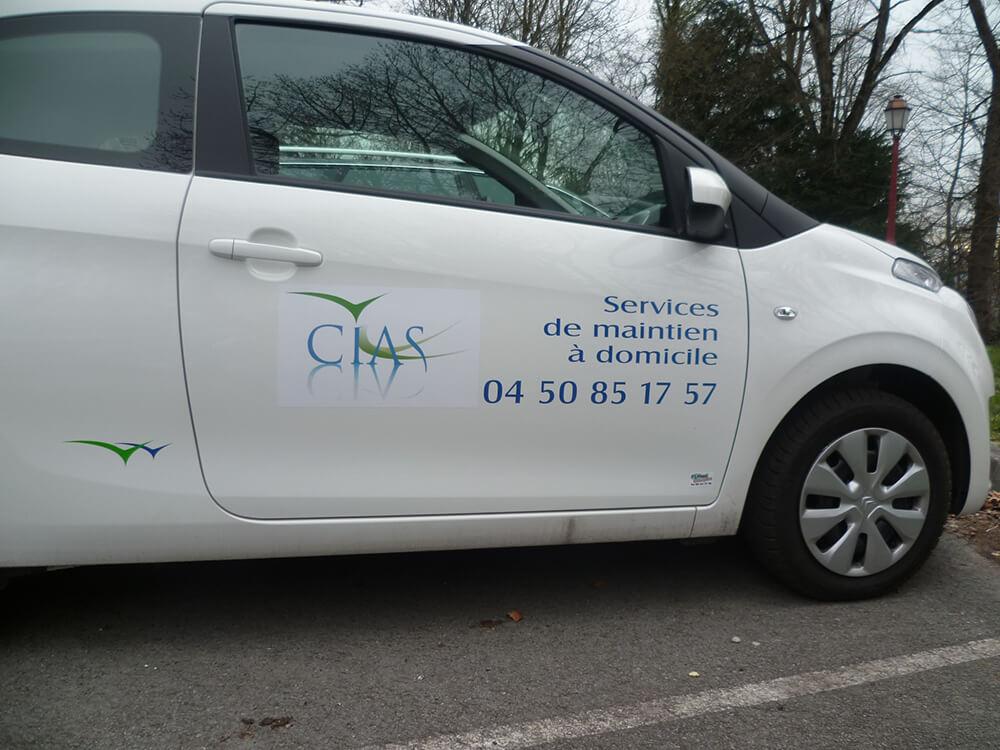 Marquage de véhicules pour des Services de maintien à domicile