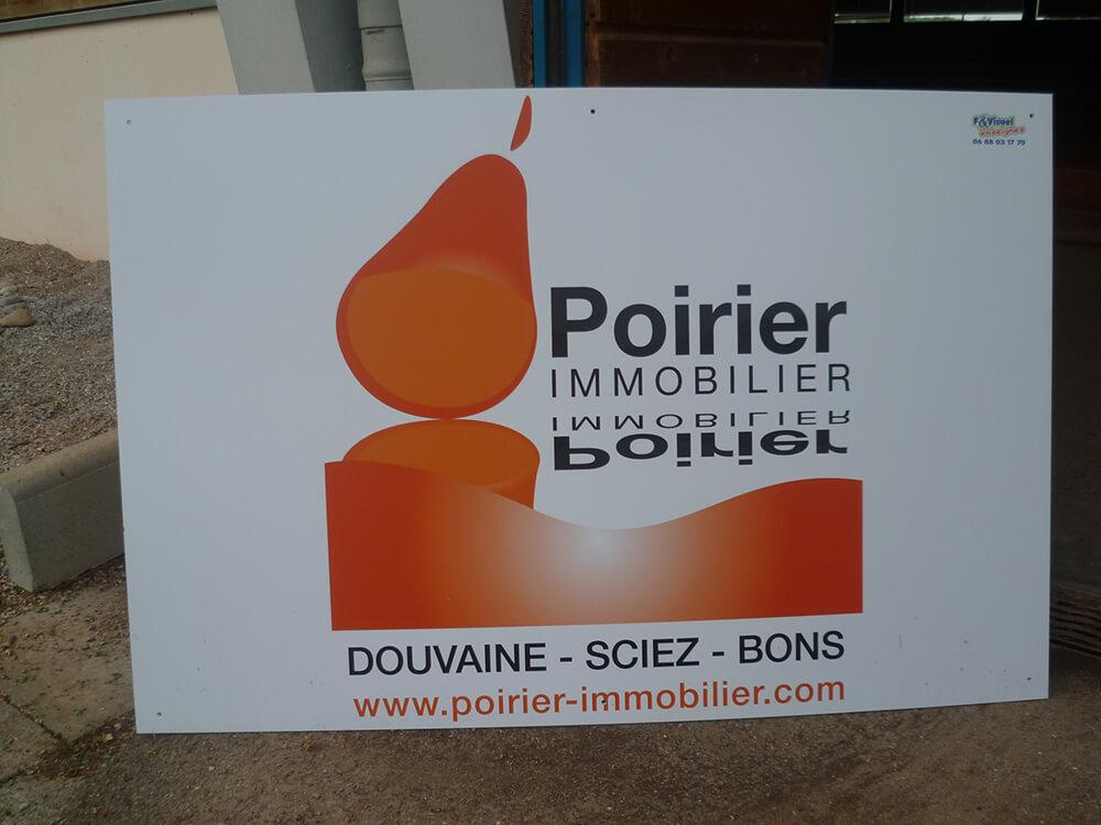 Création & installation de panneaux publicitaires